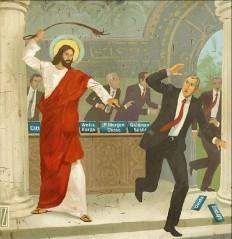 İsa'nın tacirleri tapınaktan kovma sahnesi -revisited.