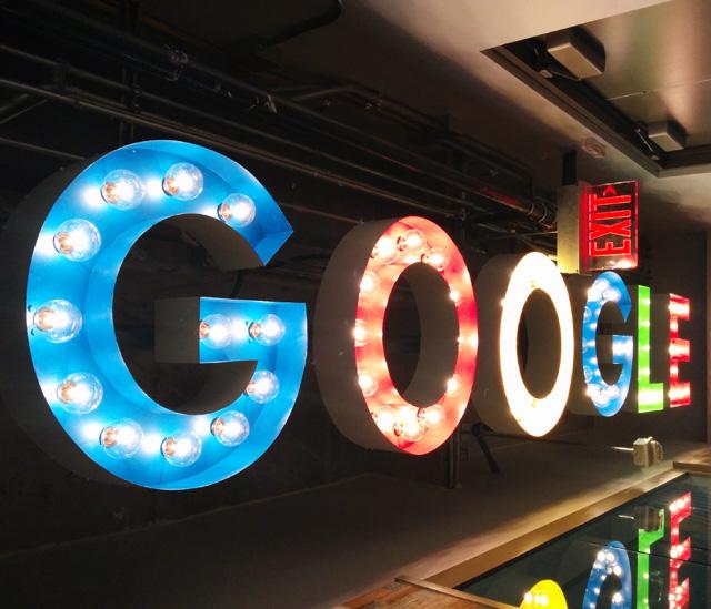 Google'ın güç zehirlenmesi
